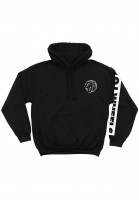 OJ Wheels Hoodies Bar Logo black Vorderansicht