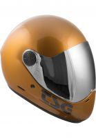 TSG Fullface-Helme Pass Pro Solid Color dorado Vorderansicht