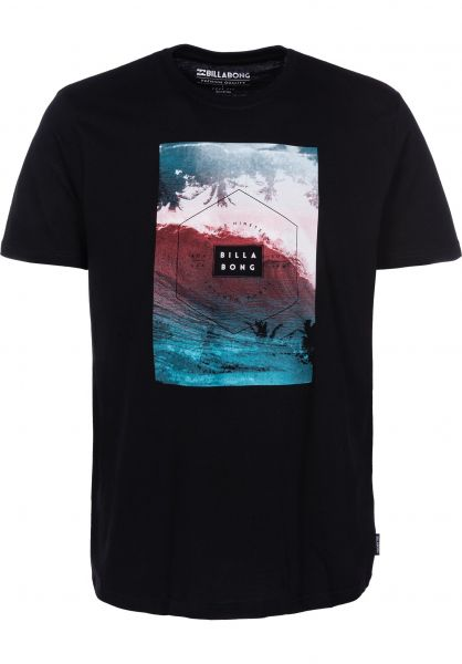 Billabong T-Shirts Section black vorderansicht 0399901