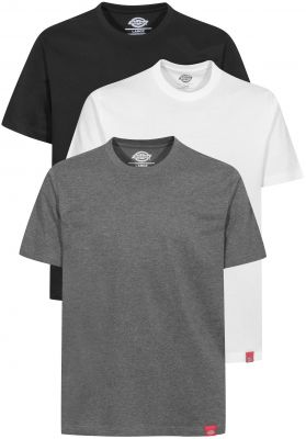 Dickies Multi-Color-T-Shirt 3er Pack