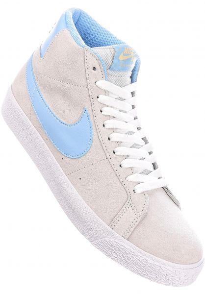 Nike SB Alle Schuhe Zoom Blazer Mid photondust-psychicblue-photon vorderansicht 0604089