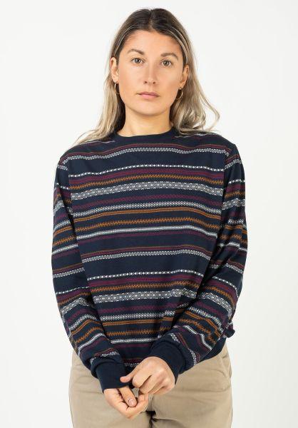 iriedaily Sweatshirts und Pullover Caipini navy vorderansicht 0423081