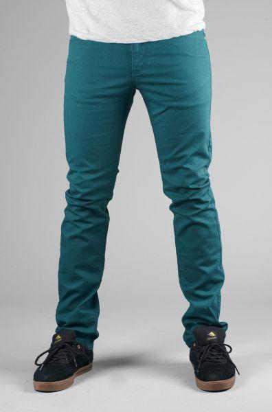 Reell Jeans Skin petrol Vorderansicht