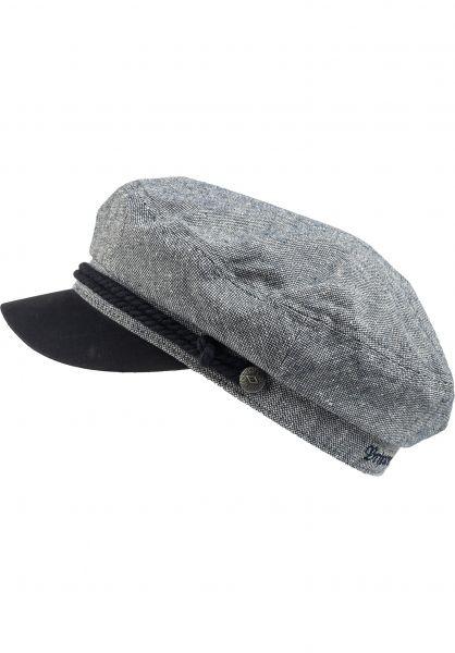 Brixton Hüte Fiddler navy-offwhite vorderansicht 0580162
