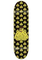frank-skateboards-skateboard-decks-buff-black-yellow-vorderansicht-0264928