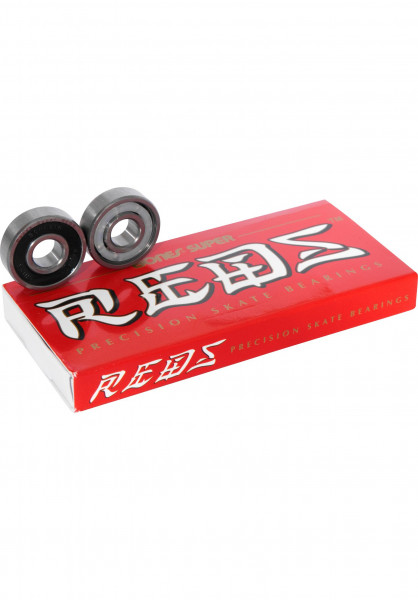 Bones Bearings Kugellager Super Reds no color Vorderansicht