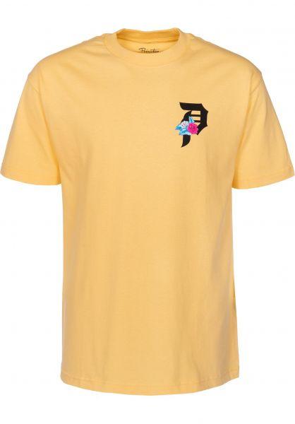 Primitive Skateboards T-Shirts Dos Flores squash Vorderansicht