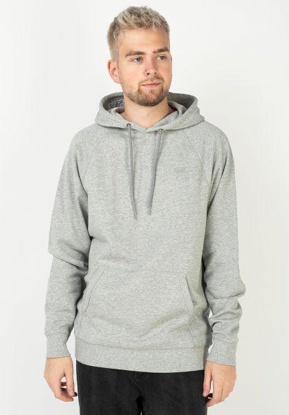 Vans Hoodies Versa cementheather vorderansicht 0445238