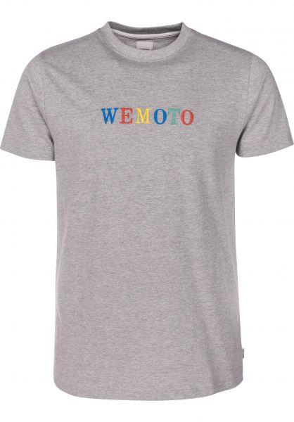 Wemoto T-Shirts Woogle heather vorderansicht 0399608