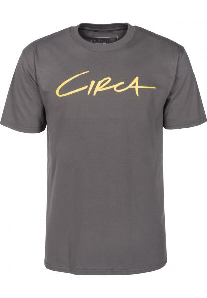 C1RCA T-Shirts Select charcoal Vorderansicht