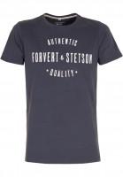 Forvert-T-Shirts-Stetson-und-Forvert-navy-Vorderansicht