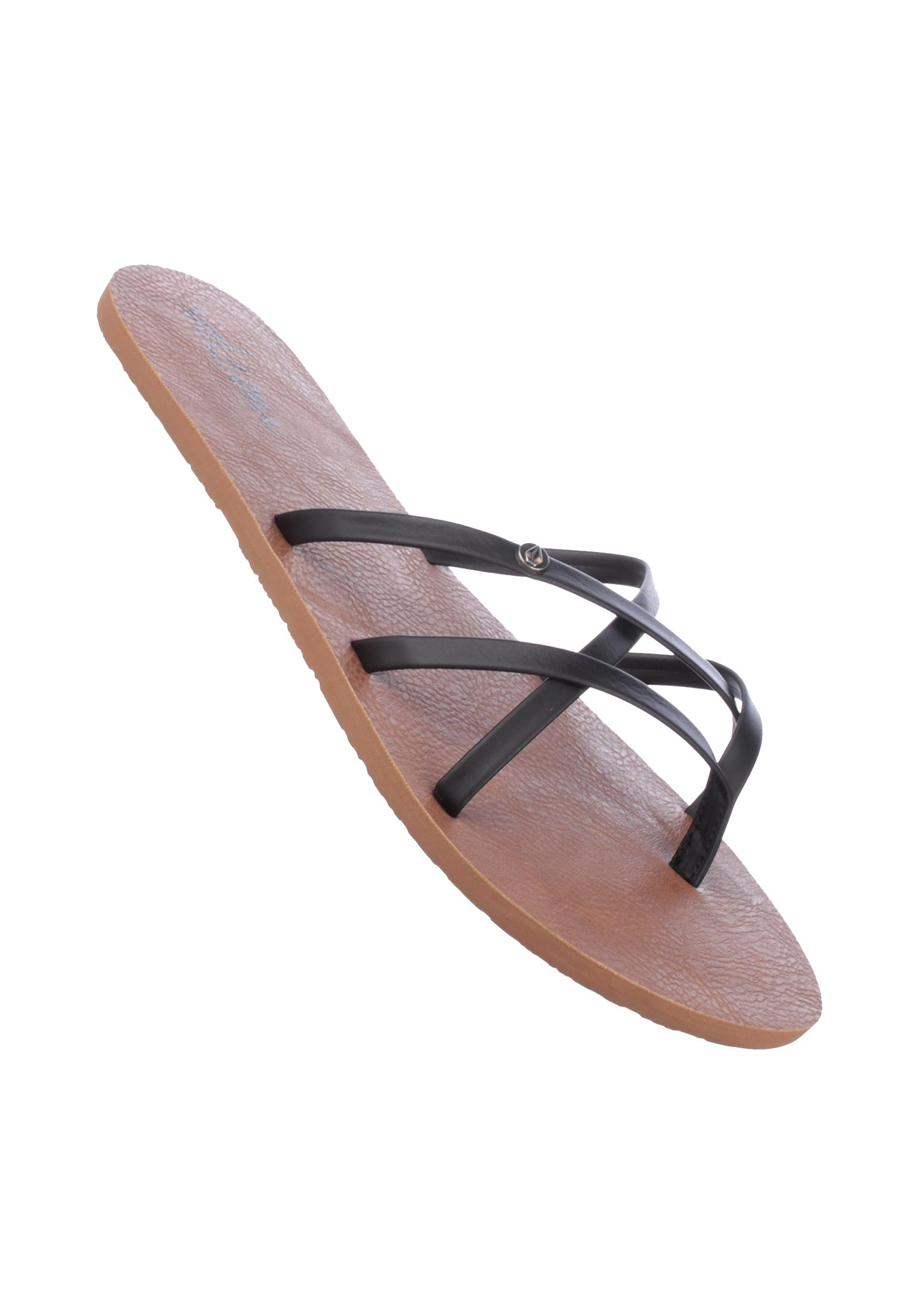 5592eb79003a9c New School Volcom Sandals in black for Women