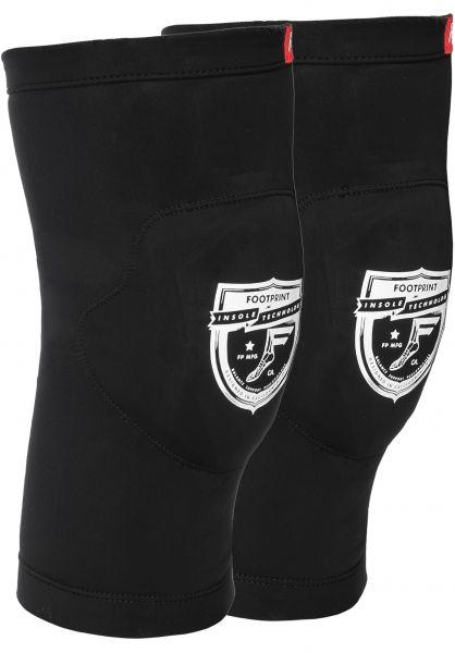 Footprint Insoles Knie- und Schienbeinschoner Low Pro Knee Sleeve black vorderansicht 0710077