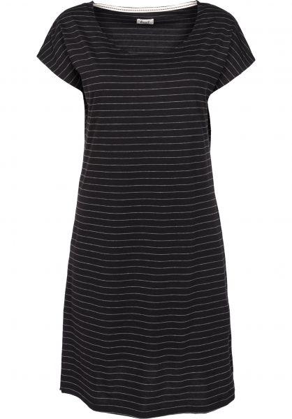 Forvert Kleider Morehouse black-grey Vorderansicht