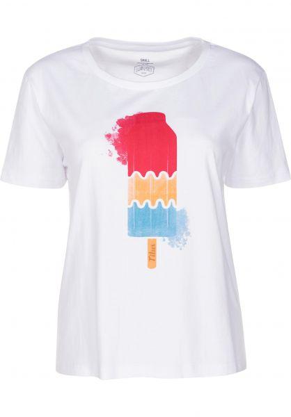 TITUS T-Shirts Summertime white vorderansicht 0398499
