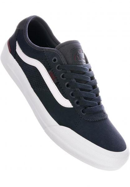 Vans Alle Schuhe Chima Pro 2 ebony-portroyale vorderansicht 0604384
