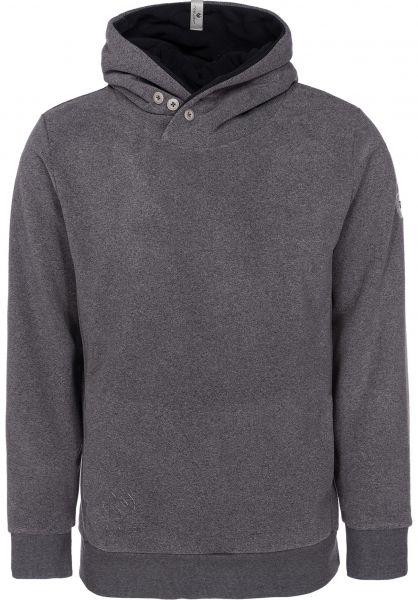 Ragwear Hoodies Chelsea Fleece darkgrey vorderansicht 0445043
