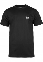 Bones Wheels T-Shirts Mini Rat black Vorderansicht