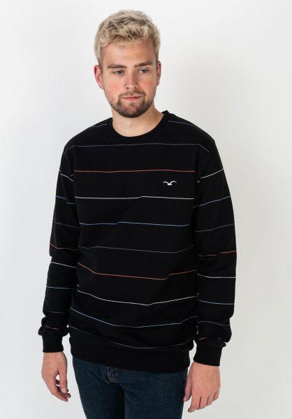 Cleptomanicx Sweatshirts und Pullover Multistripe black vorderansicht 0422966