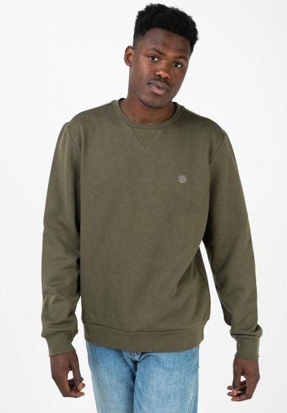 Element Sweatshirts und Pullover Cornell army vorderansicht 0421162
