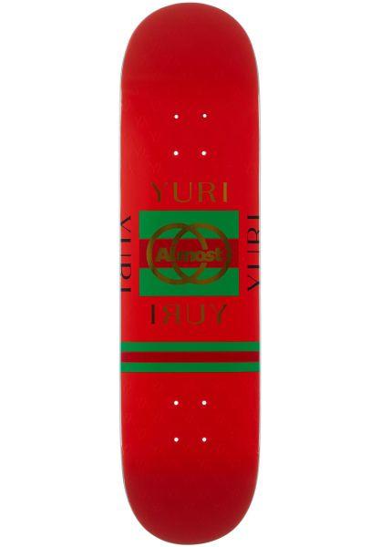 Almost Skateboard Decks Facchini Runway R7 red vorderansicht 0265841