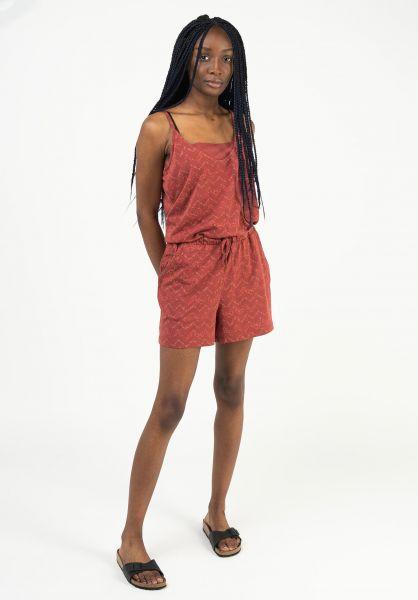 Ragwear Jumpsuits Bara Organic henna 121 vorderansicht 0251036