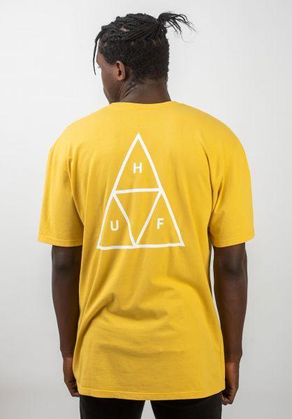 HUF T-Shirts Triple Triangle sauterne vorderansicht 0390861
