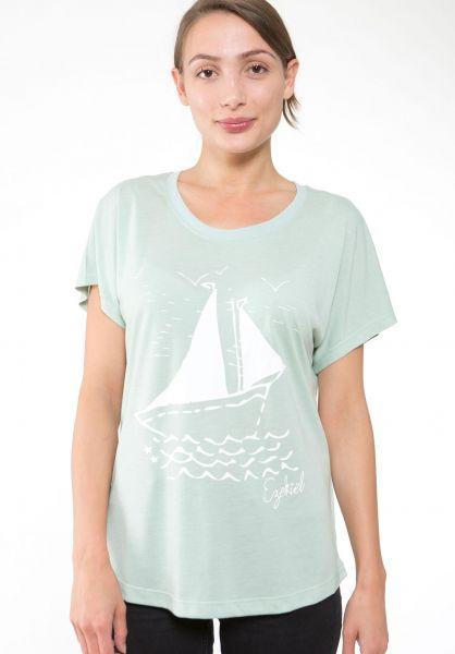Ezekiel T-Shirts Boat Dolman mint vorderansicht 0396019