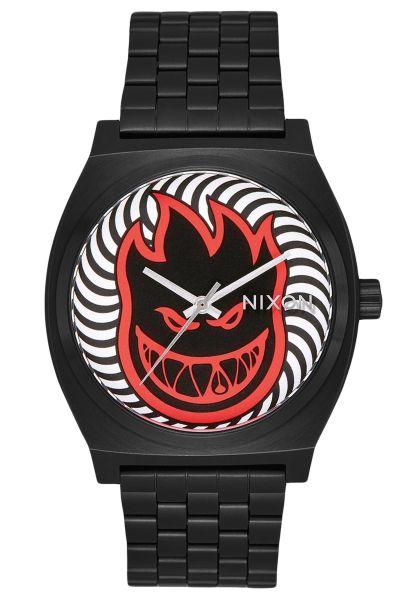 Nixon Uhren x Spitfire The Time Teller black-fireball vorderansicht 0810384