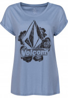 Volcom T-Shirts Radical Daze washed-blue Vorderansicht