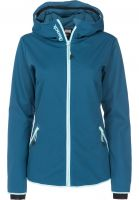 Bench Softshelljacken Slim Softshell inkblue-marl Vorderansicht