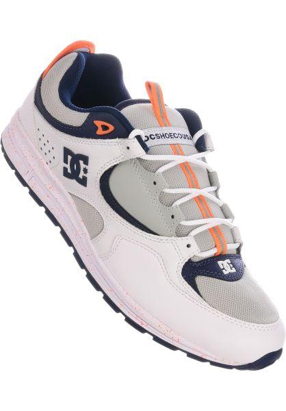 DC Shoes Alle Schuhe Kalis Lite SE grey-white vorderansicht 0604572