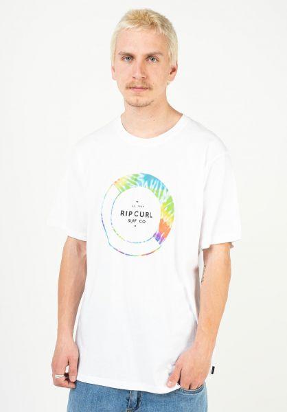 Rip Curl T-Shirts Filter white vorderansicht 0323563