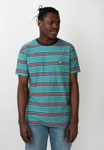 Billabong T-Shirts Die Cut STP harborblue vorderansicht 0321578