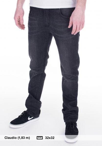 TITUS Jeans Tube Fit blackdenim-vintage Vorderansicht