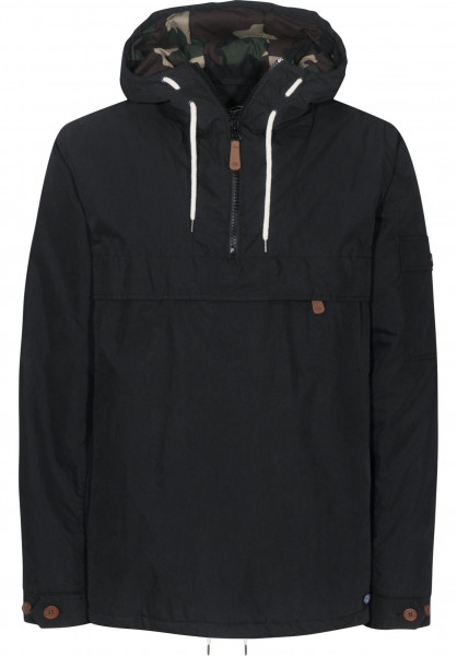 Dickies Windbreaker Milford black Vorderansicht