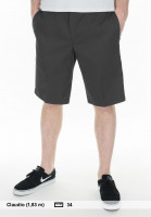 Dickies-Chinoshorts-11-Industrial-Work-Short-charcoal-Vorderansicht
