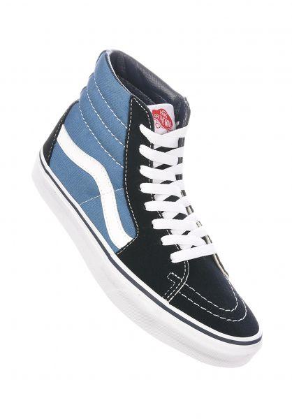 Vans Alle Schuhe Sk8-Hi navy Vorderansicht