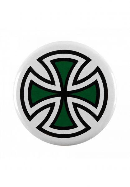 Independent Verschiedenes Cross Pin green Vorderansicht
