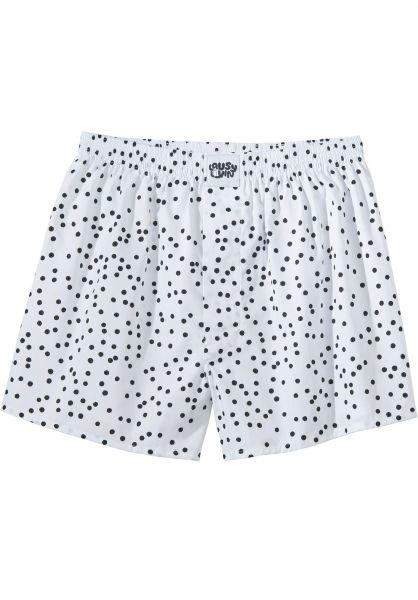 Lousy Livin Unterwäsche Dots white vorderansicht 0213164