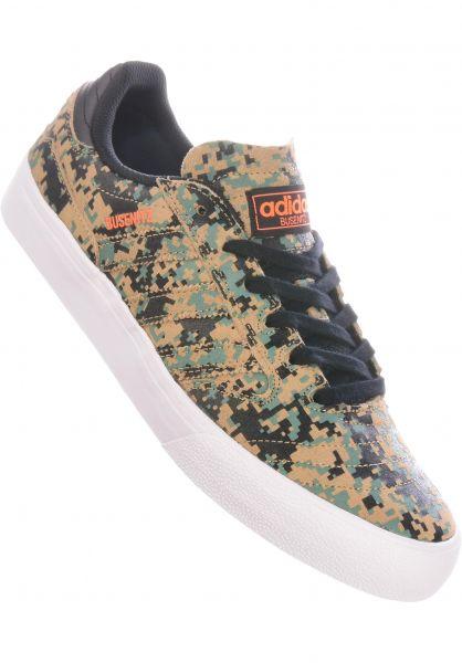 adidas-skateboarding Alle Schuhe Busenitz Vulc II coreblack-cardboard-white vorderansicht 0604761