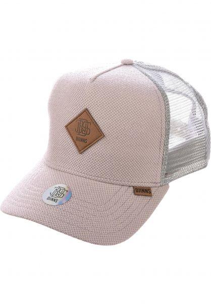Djinns Caps HFT MelangePique grey vorderansicht 0567107