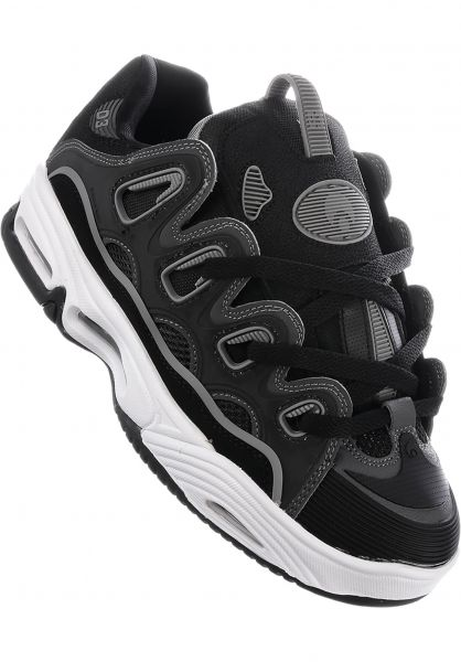 D3 2001 Osiris Tutte le scarpe in black-charcoal-grey da Uomo  f0fdc37f93f