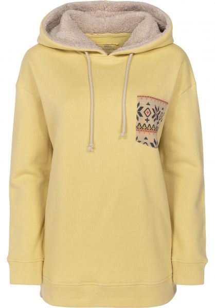 TITUS Hoodies Laarni faded yellow Vorderansicht