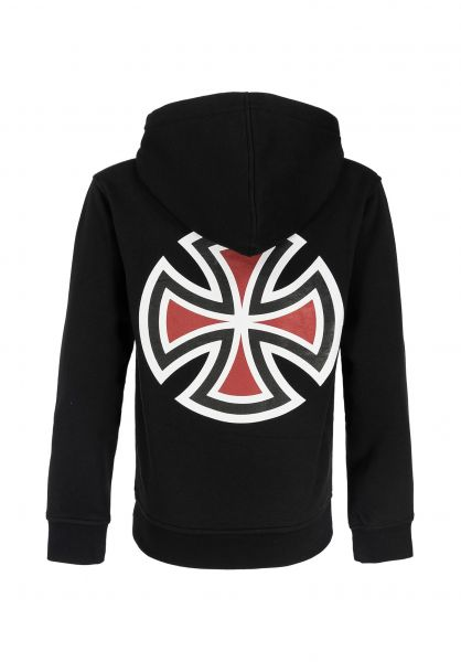 Independent Hoodies Youth Bar Cross black unteransicht 0445777