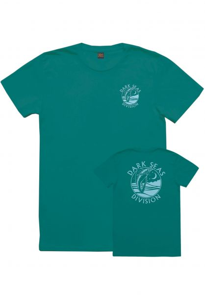 Dark Seas T-Shirts Night Jewel Women teal Vorderansicht