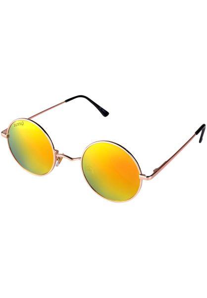 Zunny Sonnenbrillen John gold-black-orange Vorderansicht 0590565