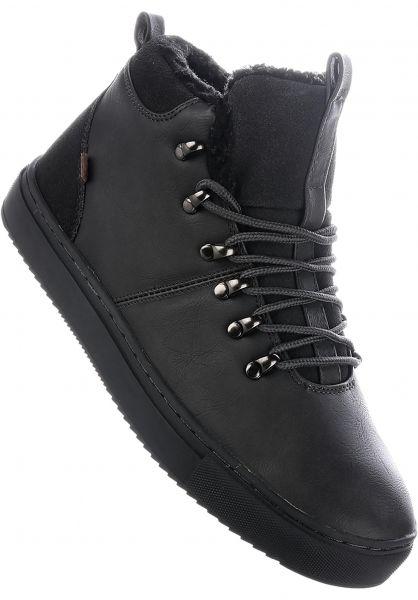 Djinns Alle Schuhe Trek High Fur charcoal-charcoal vorderansicht 0604312