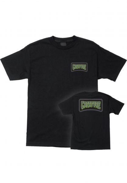 Creature T-Shirts Aware black vorderansicht 0323213