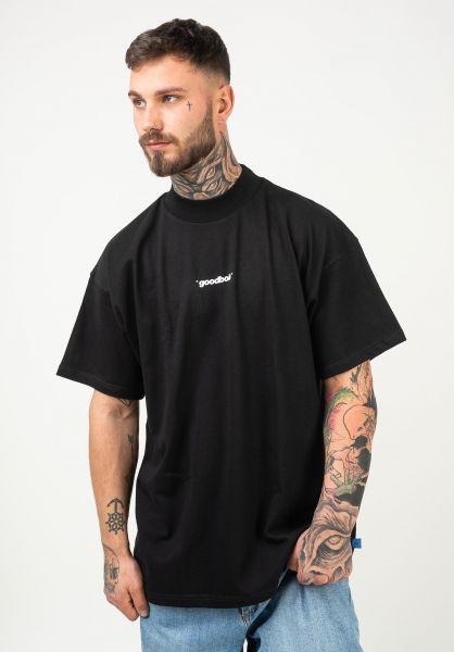 Goodbois T-Shirts Official Mockneck black vorderansicht 0323158